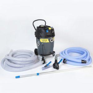 Pond mud vacuum cleaner